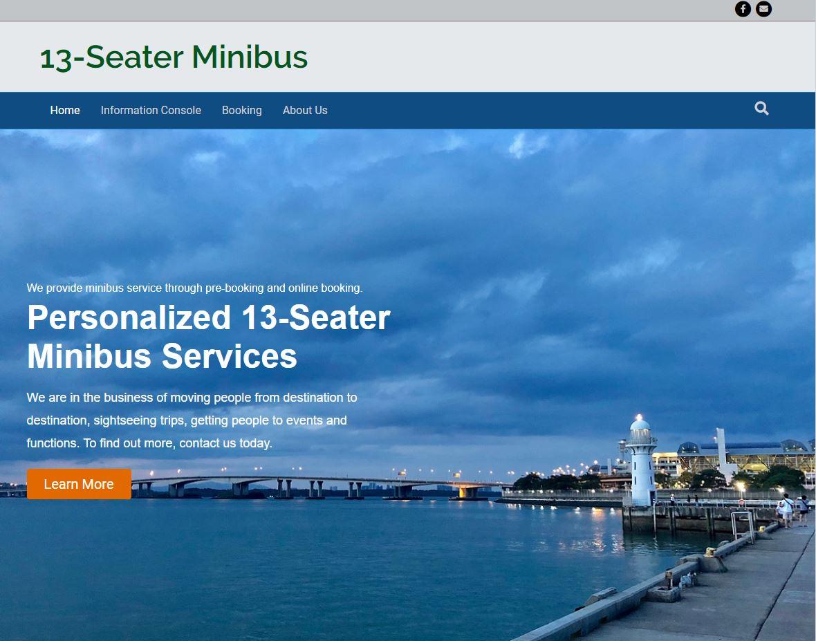 13-seater Minibus